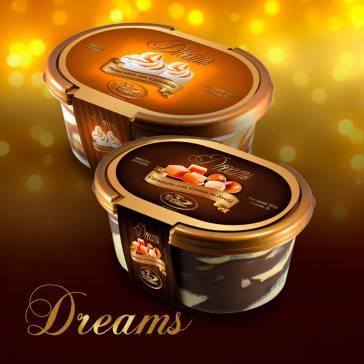 Pote Dreams - Lançamento. Sabores: Caramelo com Creme de Avelã, Panacotta com Caramelo.